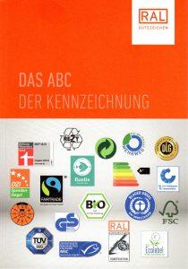 """RAL Broschüre """"Das ABC der Kennzeichung"""""""