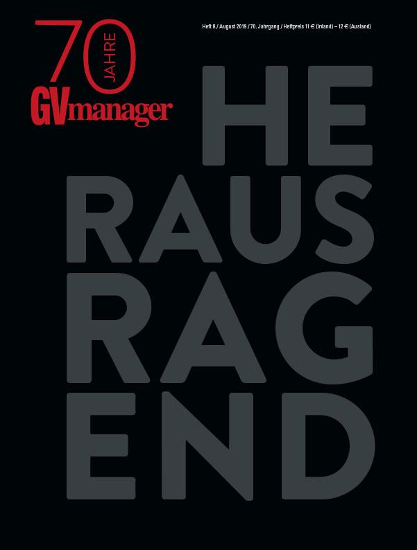 GV-Manager 70 Jahre, Augustausgabe 2019