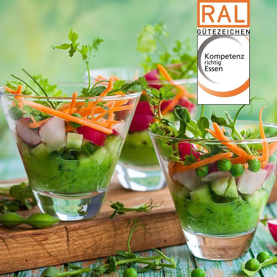 RAL Gütezeichen Kompetenz richtig Essen
