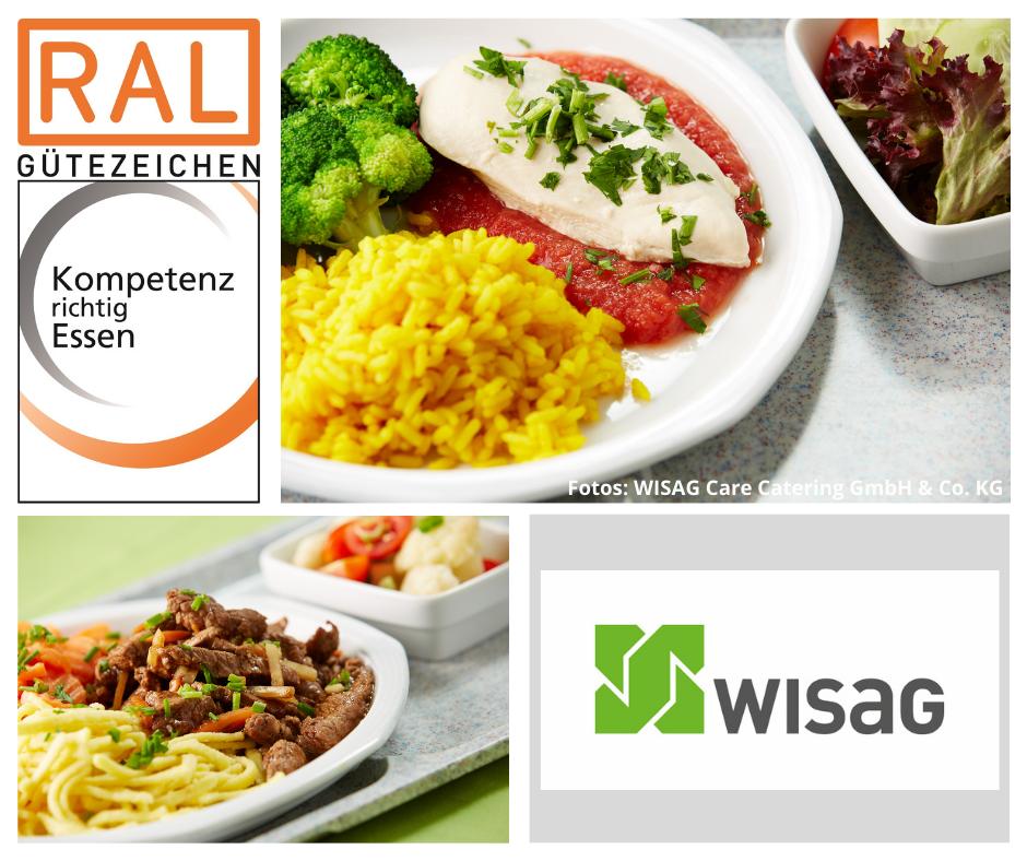 Klinikessen der WISAG Care Catering GmbH & Co. KG im Klinikum Hanau. Ausgezeichnet mit dem RAL Gütezeichen Kompetenz richtig Essen